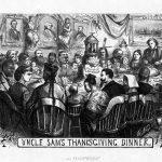 Uncle Sam's Thanksgiving Dinner – 1869