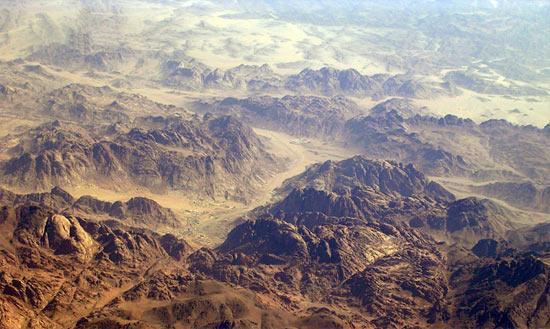 Mt.Sinai, aerial view