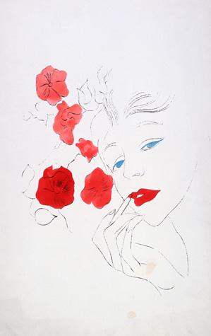 1950s Female Head, Warhol