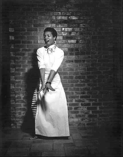 Maya Angelou 1954