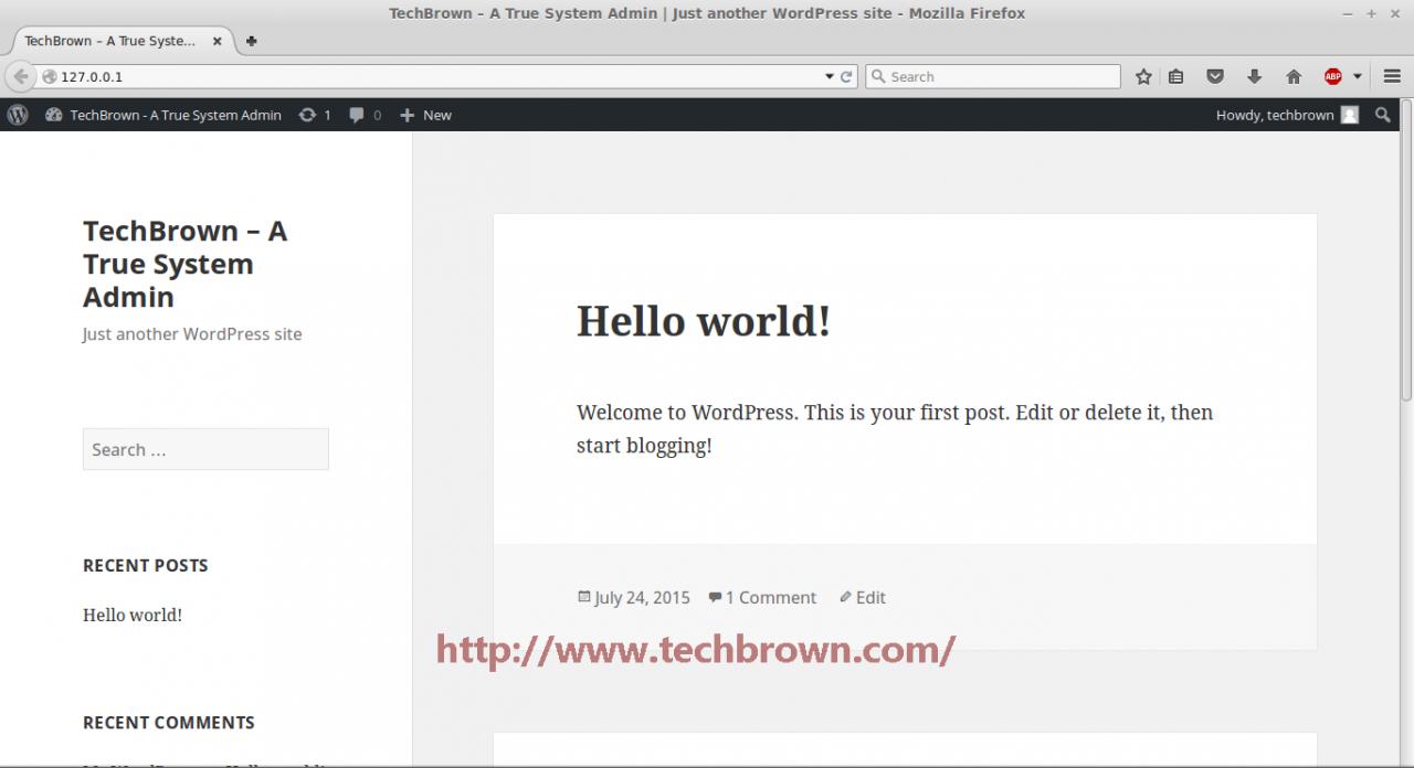 7 WordPress Site