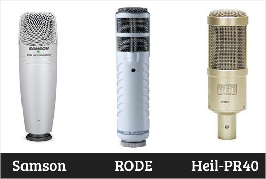 Buying a professional microphone for podcasting